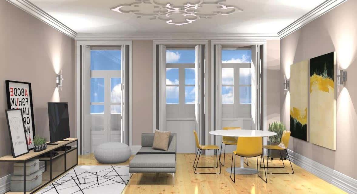 דירה במרכז פורטו – BONFIM